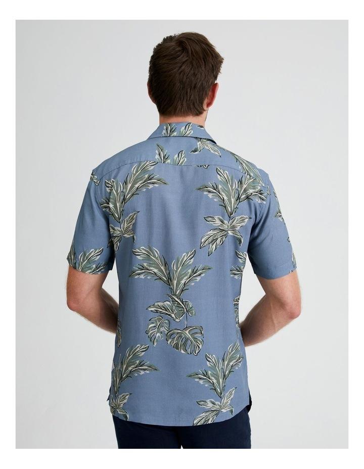 Hawaii Floral Print Short Sleeve Viscose Shirt image 3