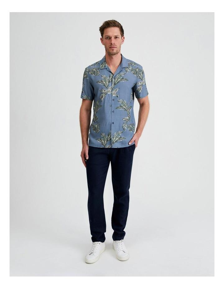 Hawaii Floral Print Short Sleeve Viscose Shirt image 4
