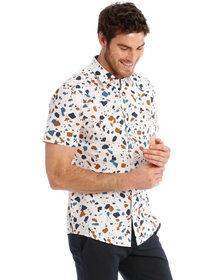 Terrazzo Geo Print Short Sleeve Shirt image 2