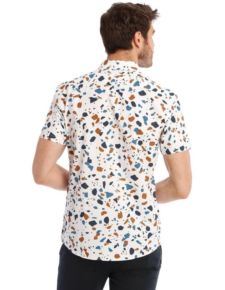 Terrazzo Geo Print Short Sleeve Shirt image 3
