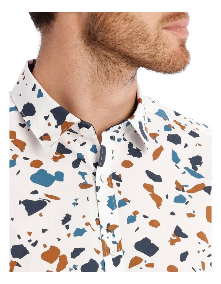 Terrazzo Geo Print Short Sleeve Shirt image 4