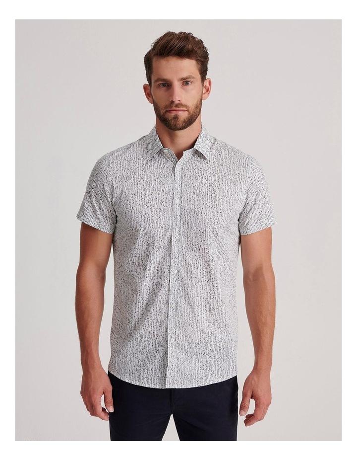 Champagne Beach Short Sleeve Slim Shirt image 1