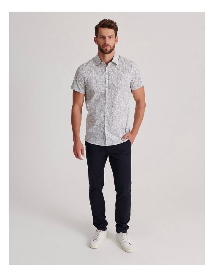Champagne Beach Short Sleeve Slim Shirt image 2