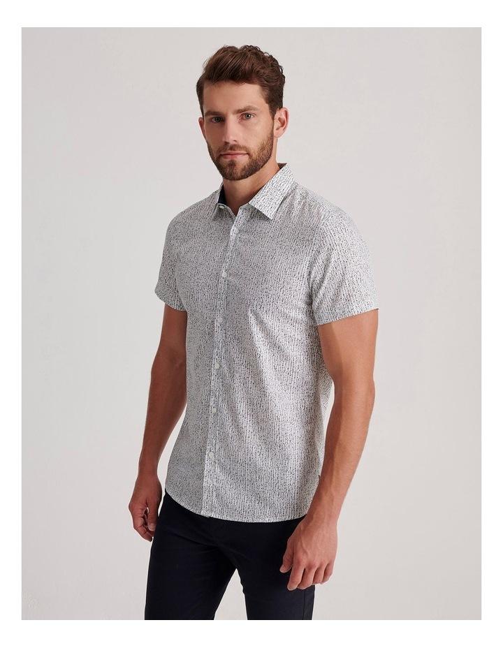 Champagne Beach Short Sleeve Slim Shirt image 3
