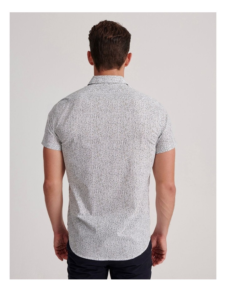Champagne Beach Short Sleeve Slim Shirt image 4