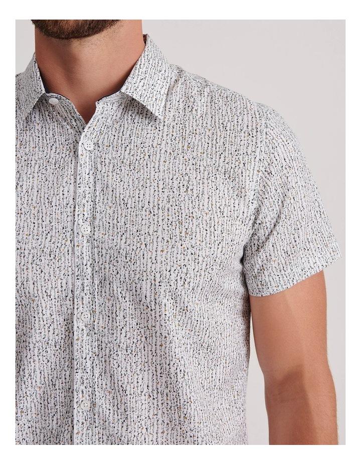 Champagne Beach Short Sleeve Slim Shirt image 5