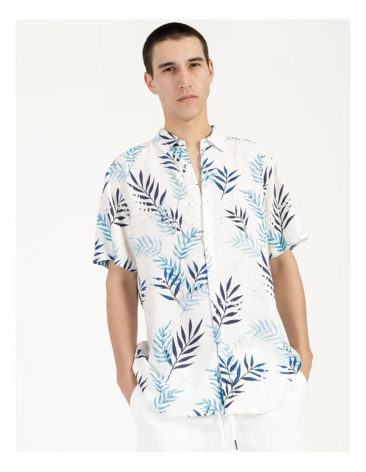 Mareeba Floral Print Short Sleeve Viscose Shirt image 1