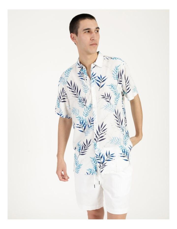 Mareeba Floral Print Short Sleeve Viscose Shirt image 3