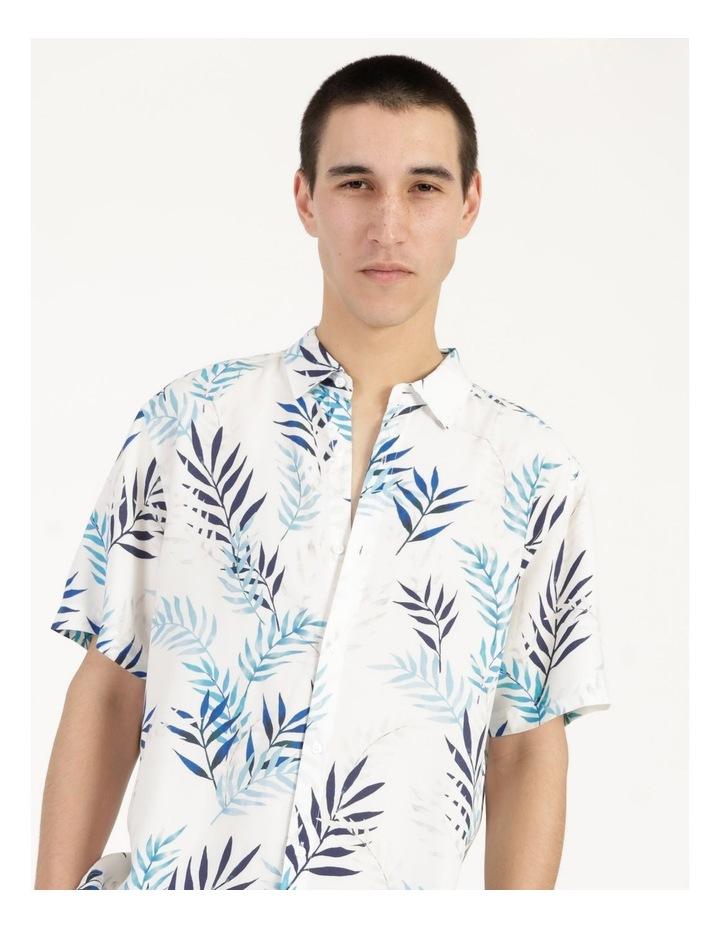 Mareeba Floral Print Short Sleeve Viscose Shirt image 5