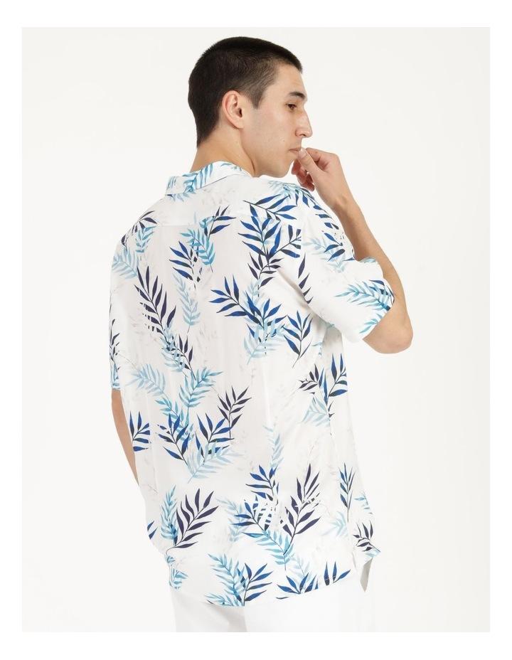 Mareeba Floral Print Short Sleeve Viscose Shirt image 6