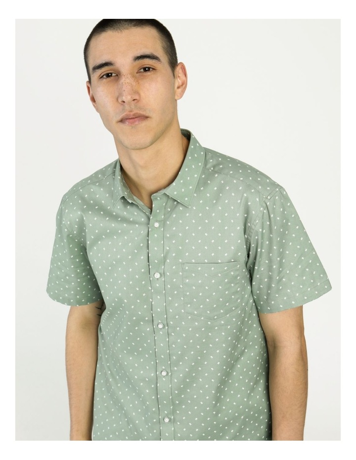 Tyler Geo Print Ss Relaxed Shirt image 1