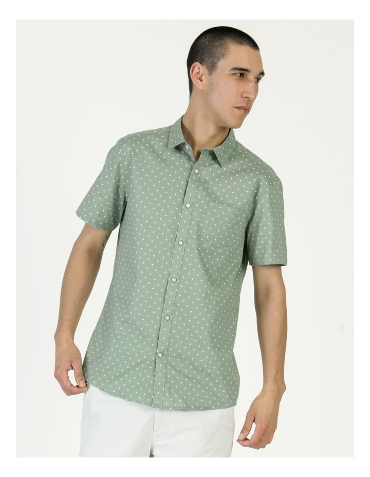 Tyler Geo Print Ss Relaxed Shirt image 2