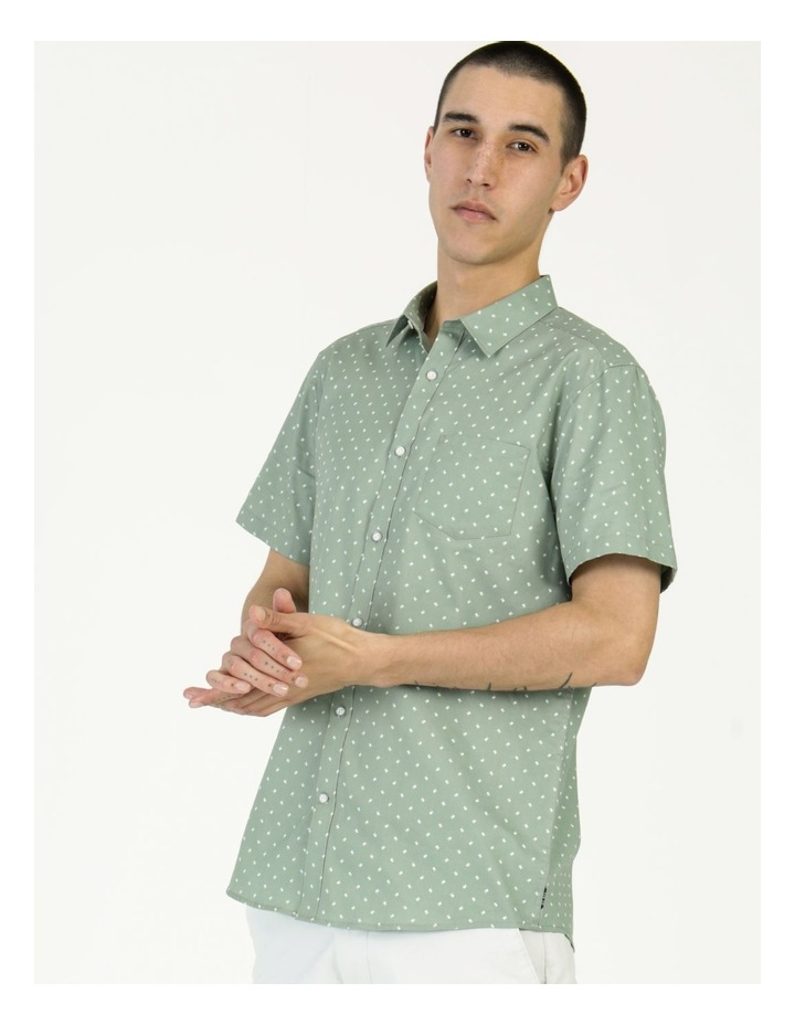 Tyler Geo Print Ss Relaxed Shirt image 4