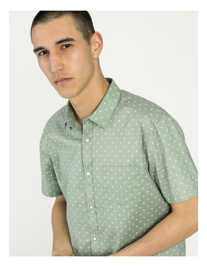 Tyler Geo Print Ss Relaxed Shirt image 5
