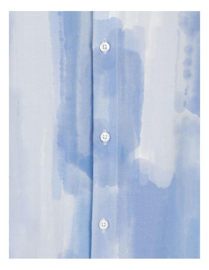 Ayr Abstract Print Short Sleeve Viscose Shirt image 7