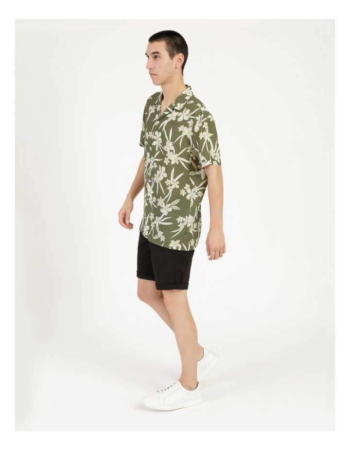 Freemantle Floral Print Short Sleeve Viscose Shirt image 4
