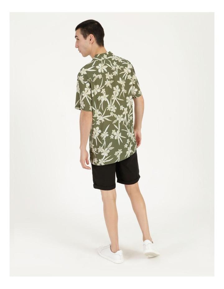 Freemantle Floral Print Short Sleeve Viscose Shirt image 5