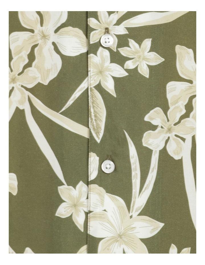 Freemantle Floral Print Short Sleeve Viscose Shirt image 7