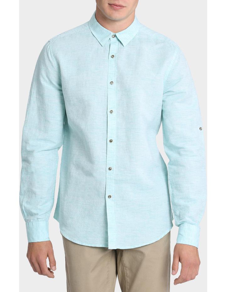 Owen Linen Long Sleeve Shirt image 1