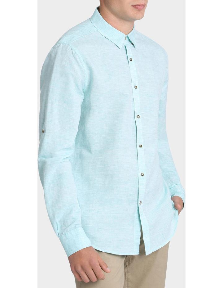 Owen Linen Long Sleeve Shirt image 2