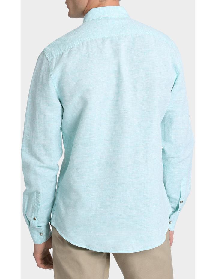 Owen Linen Long Sleeve Shirt image 3