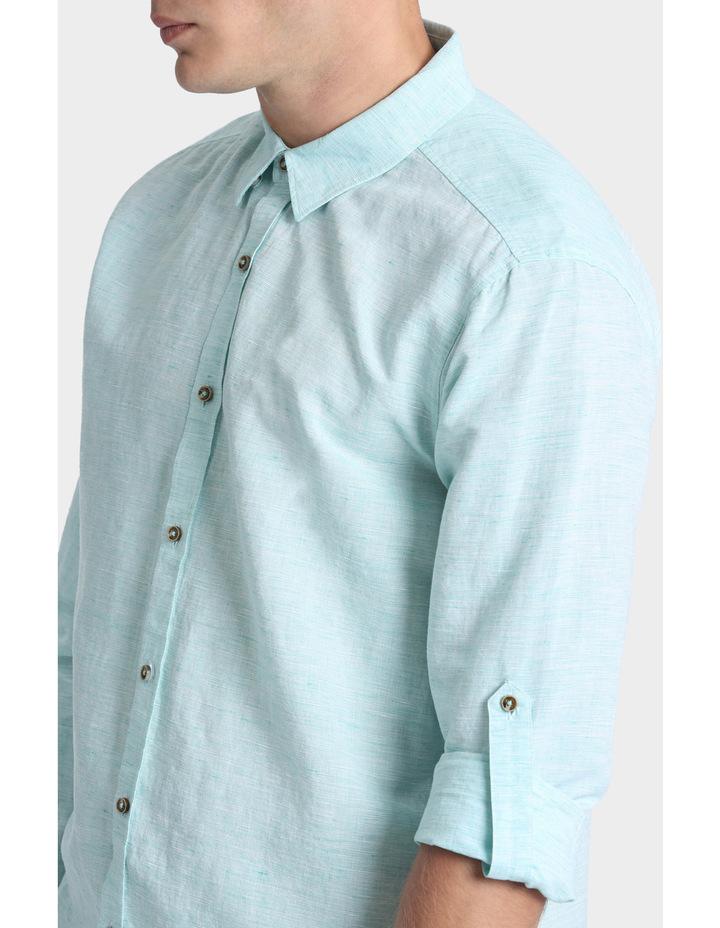 Owen Linen Long Sleeve Shirt image 4