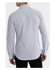 Blaq - Sardinia Dimond Spot Print Long Sleeve Slim Shirt