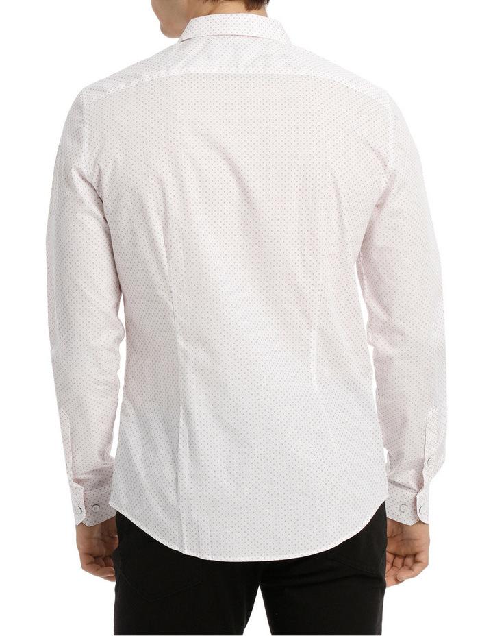 Capri cross print slim long sleeve shirt image 3