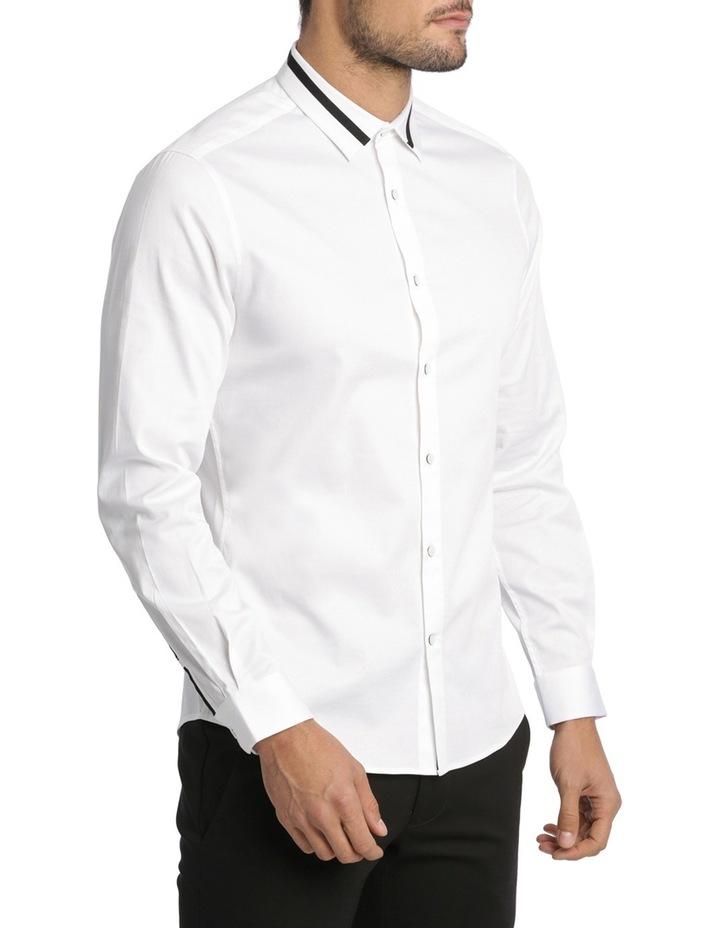 Rhaegar Detailed Collar Long Sleeve Slim Shirt image 2