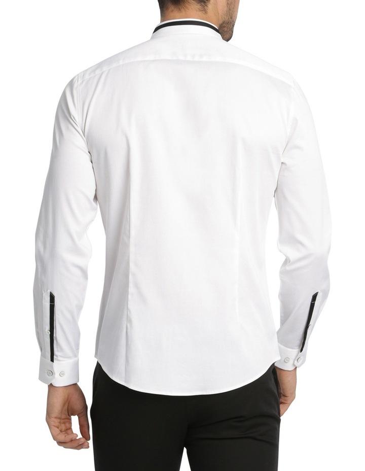 Rhaegar Detailed Collar Long Sleeve Slim Shirt image 3