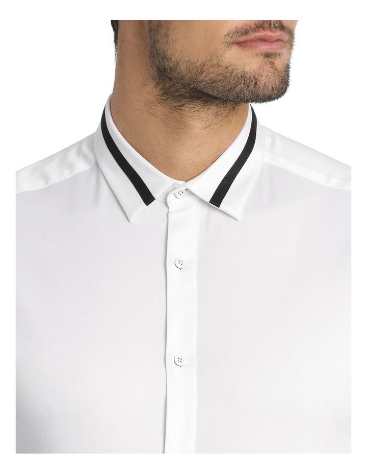 Rhaegar Detailed Collar Long Sleeve Slim Shirt image 4