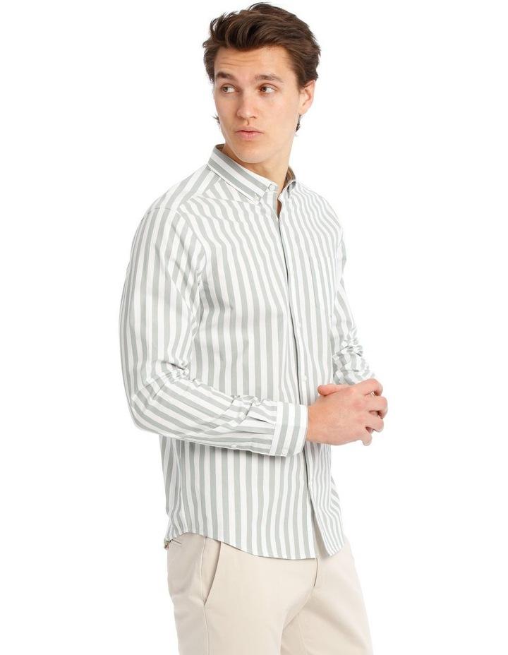 Upolu Stripe Long Sleeve Relaxed Shirt image 2