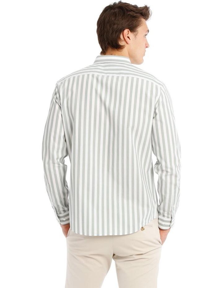 Upolu Stripe Long Sleeve Relaxed Shirt image 3