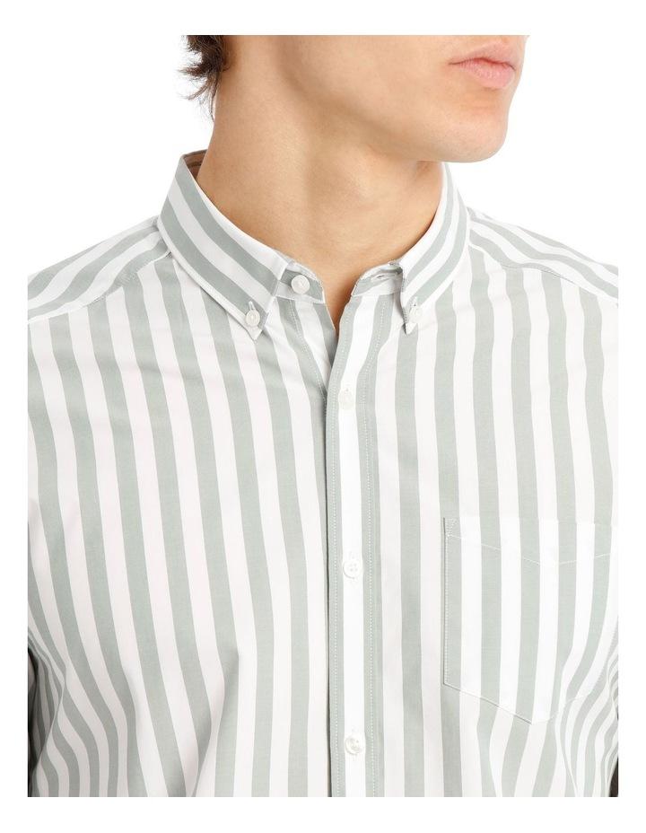 Upolu Stripe Long Sleeve Relaxed Shirt image 4