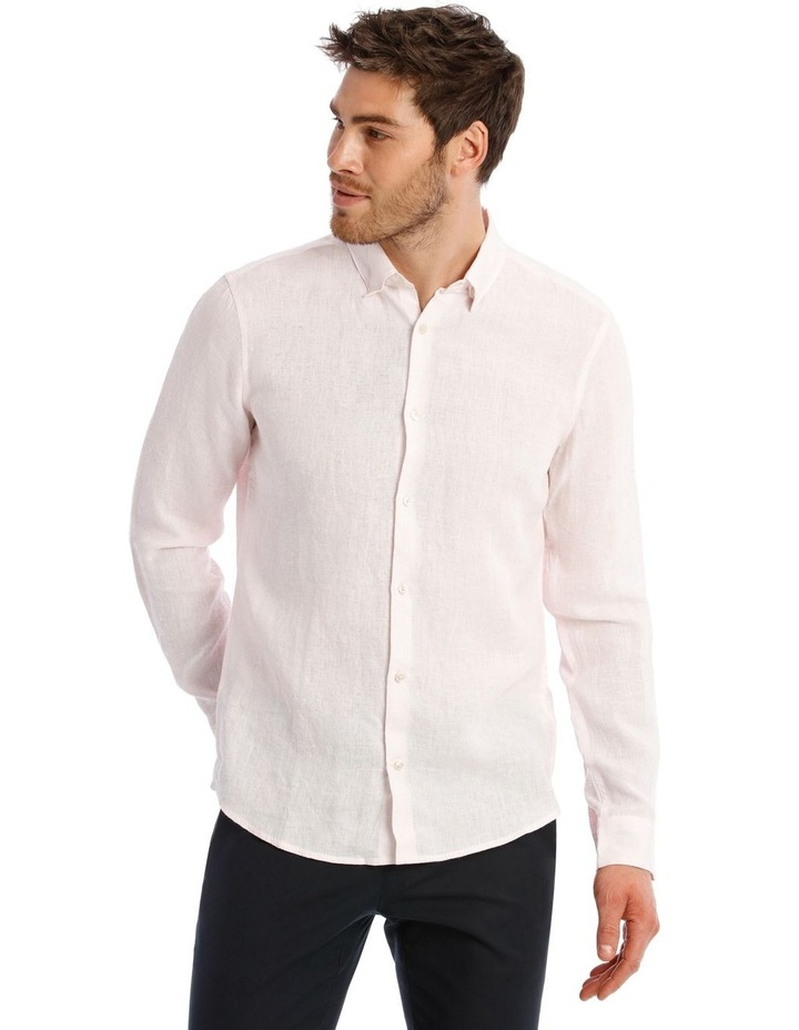 Bondi Linen Long Sleeve Relaxed Shirt image 1