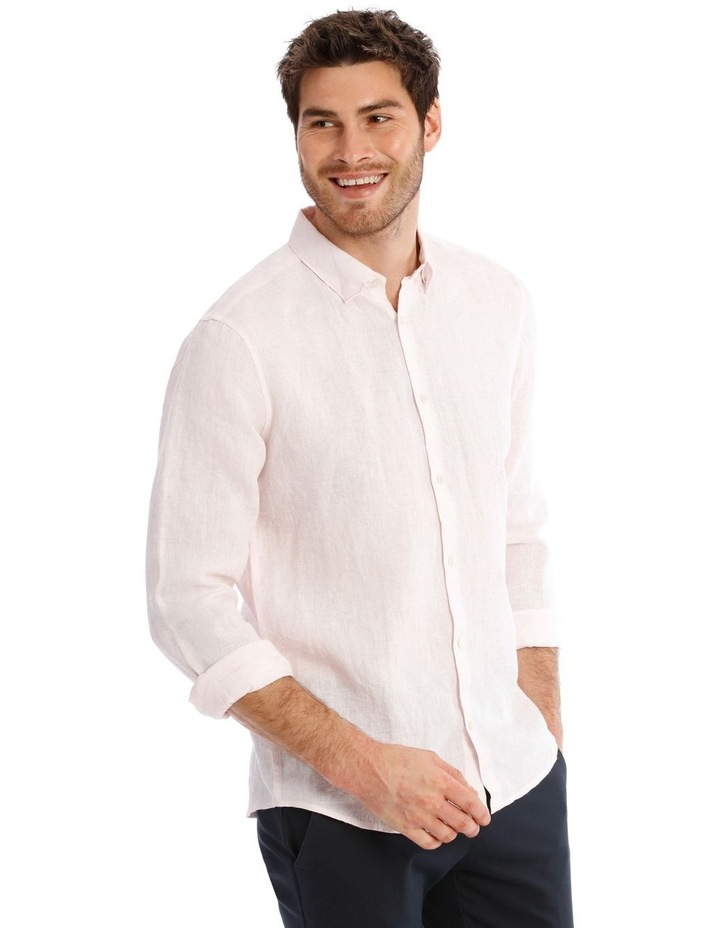 Bondi Linen Long Sleeve Relaxed Shirt image 2