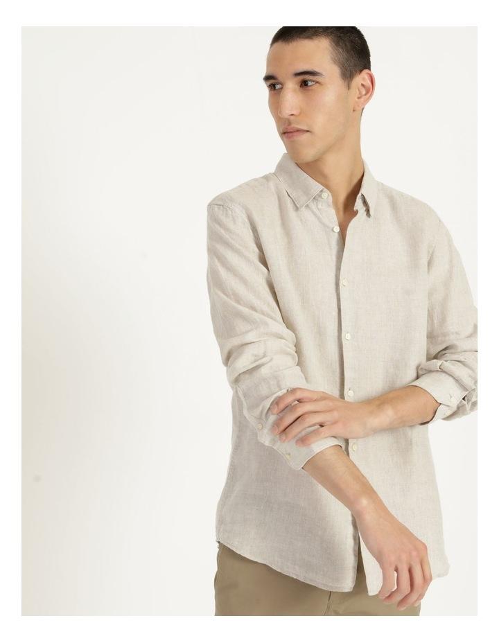 Bondi Linen Long Sleeve Relaxed Shirt image 1