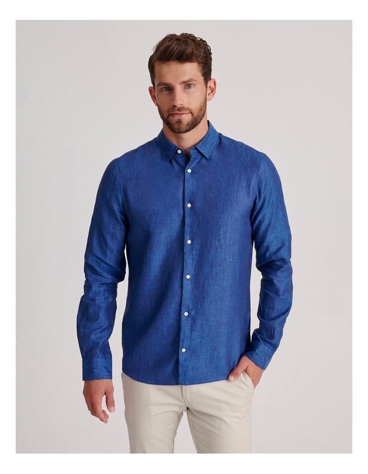 Bondi Linen Long Sleeve Relaxed Shirt image 2