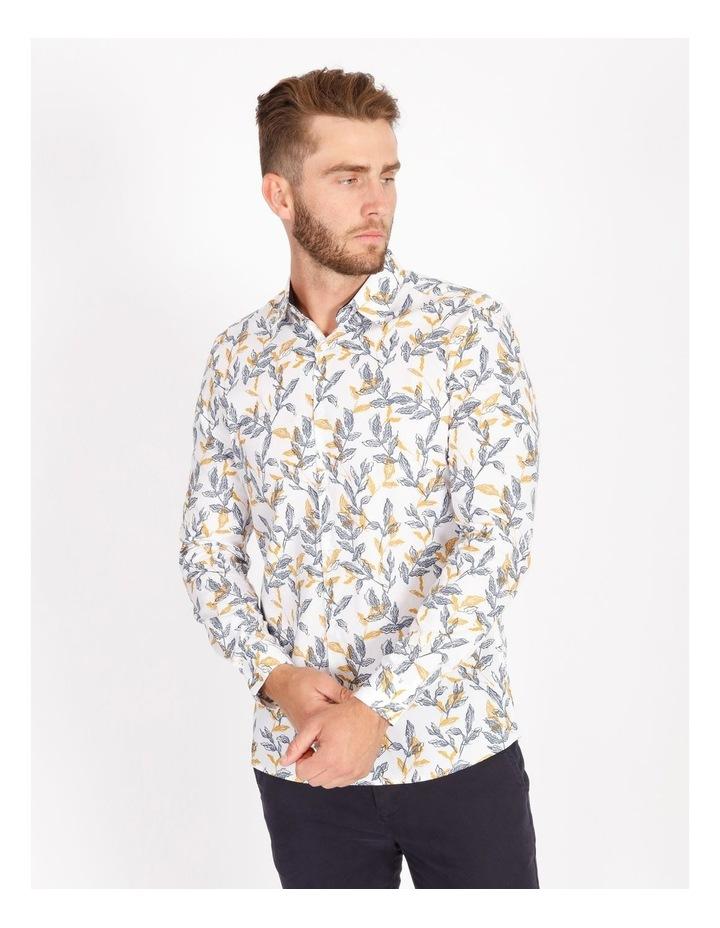 Nate Ditsy Print Long Sleeve Slim Shirt image 1