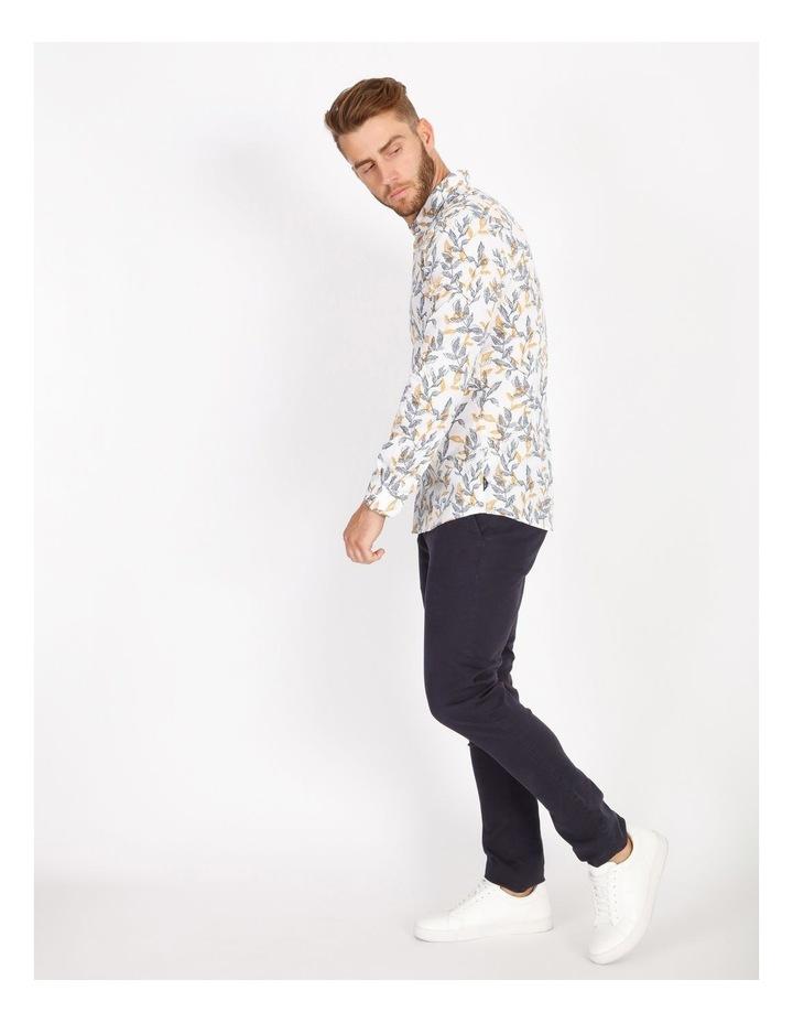Nate Ditsy Print Long Sleeve Slim Shirt image 2