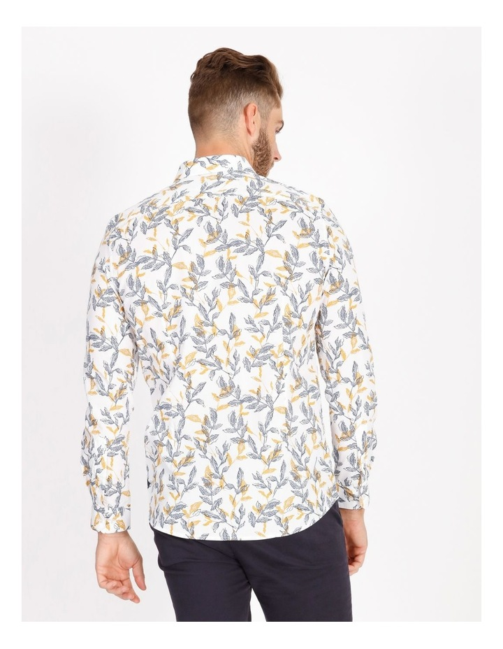 Nate Ditsy Print Long Sleeve Slim Shirt image 3