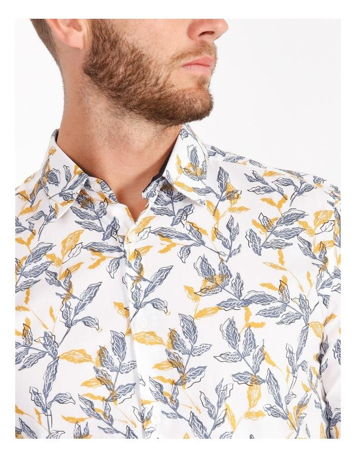 Nate Ditsy Print Long Sleeve Slim Shirt image 4