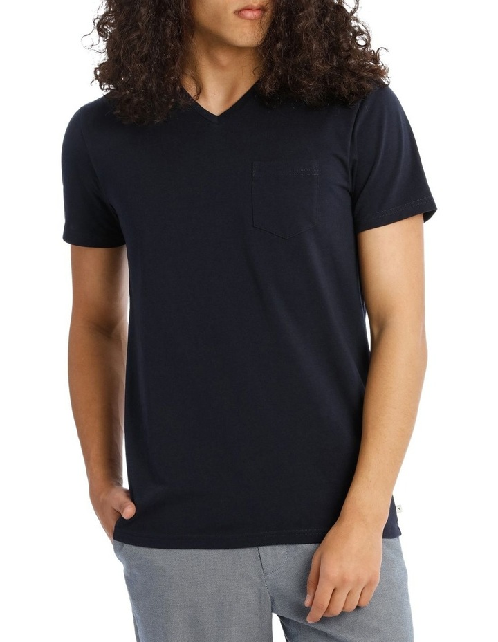 Tenerife V Neck Pocket Tee image 1