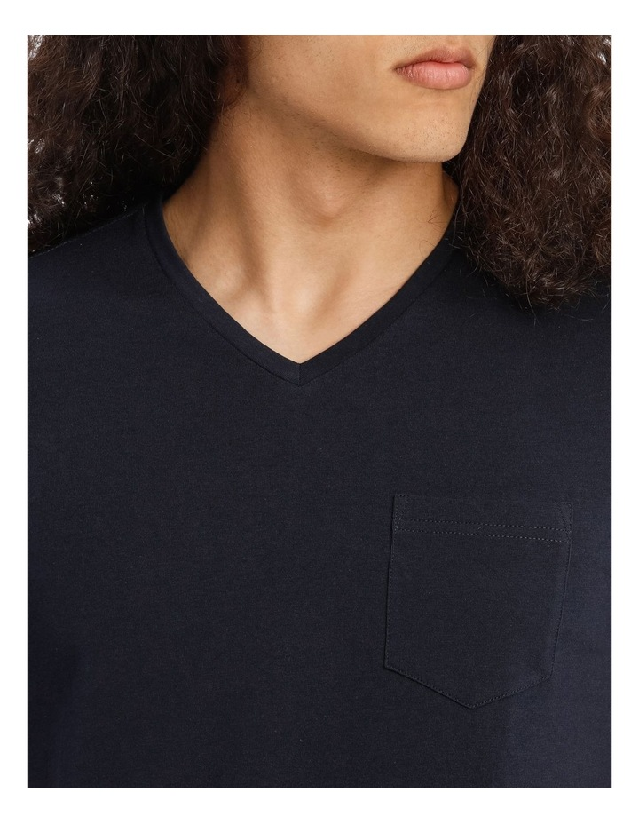 Tenerife V Neck Pocket Tee image 4