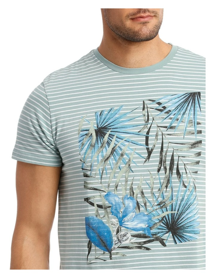 Hyams Placement Print Tee image 4