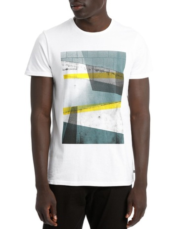 Blaq TAMPERE PLACEMENT PRINT TEE b06752a21