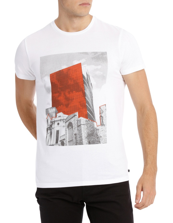 CLERK AND WELL PLACEMENT PRINT TEE image 1