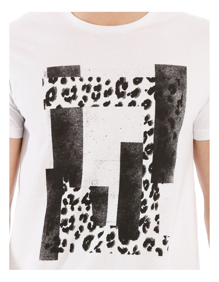 Leopard Placement Print Tee image 4