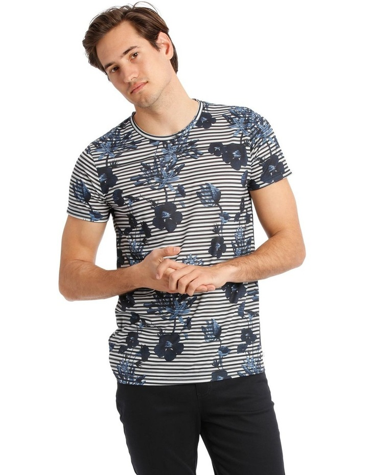 Taza Placement Stripe Tee image 1