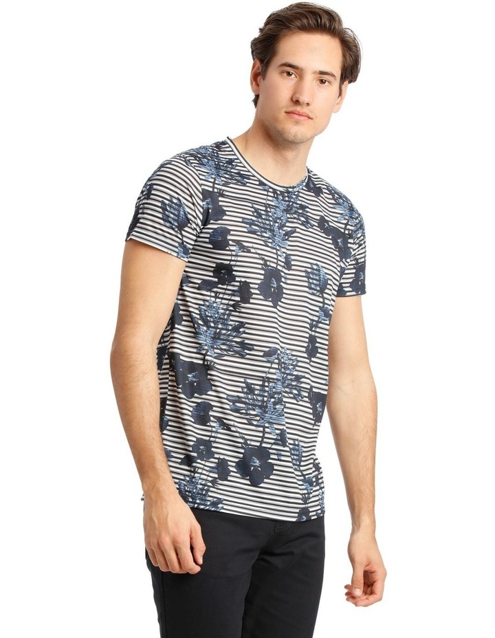 Taza Placement Stripe Tee image 2